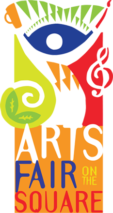 Arts Fair on the Square, Bloomington, Indiana - logo
